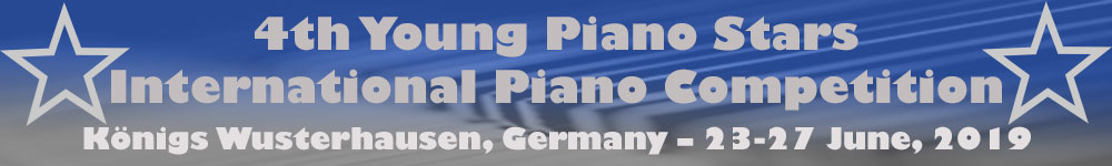Young-Piano-Stars - Participants and Schedule